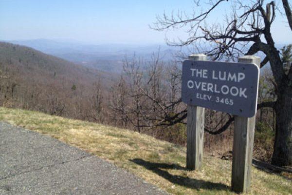 The Lump Trail-Blue Ridge Parkway-Milepost 264.4