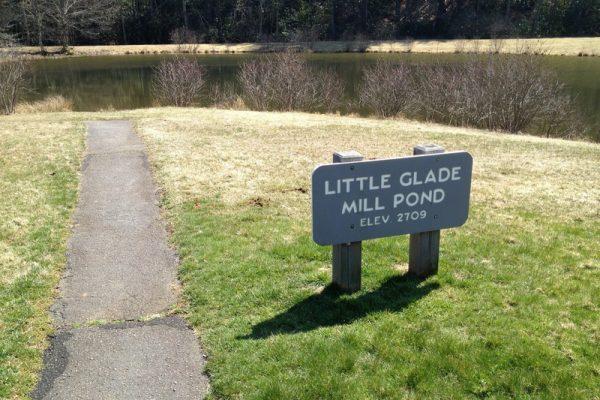 Little Glade Mill Pond - Blue Ridge Parkway Milepost 230.1