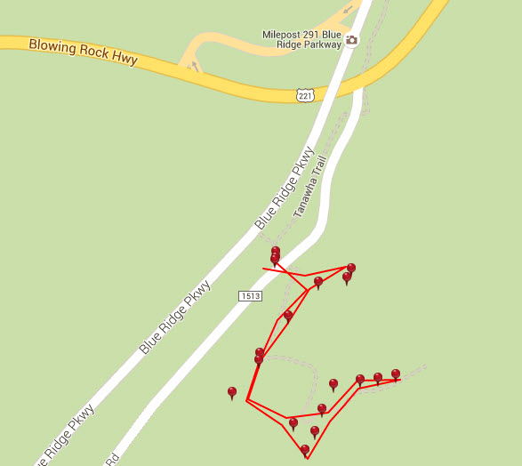 beacon heights trail map