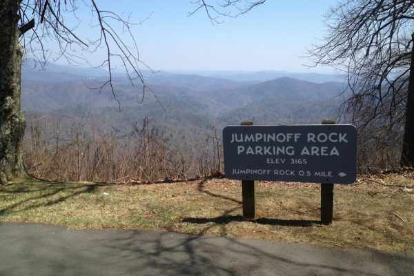 Jumpingoff Rocks-Blue Ridge Parkway-Milepost 260.3