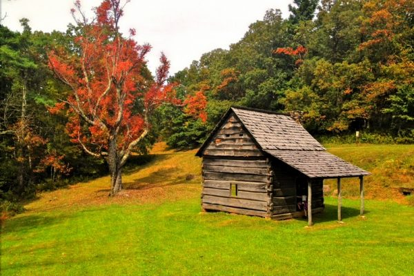 Tomkins Knob Trail-Blue Ridge Parkway-Milepost 273