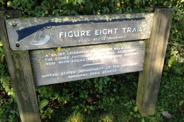 Figure 8 Loop Trail-Moses Cone Memorial Park-Blue Ridge Parkway