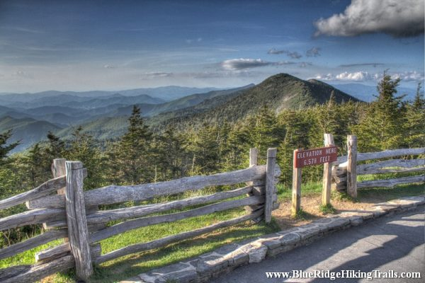Mount Mitchell Lookout Tower-Blue Ridge Parkway-Milepost 355.4
