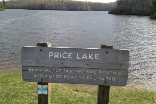 Price Lake Loop-Blue Ridge Parkway-Milepost 296.7