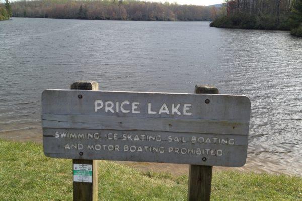 Price Lake Loop-Blue Ridge Parkway-Milepost 296.7