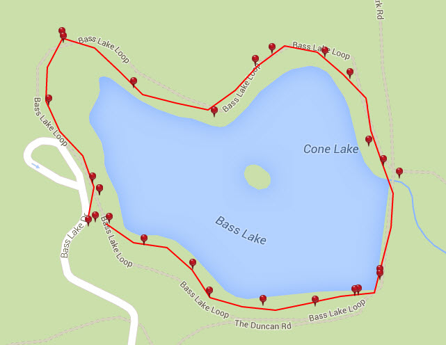 bass lake loop