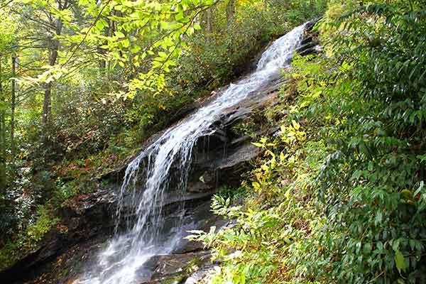 Cascades Trail-E.B. Jeffress Park-Blue Ridge Parkway-Milepost 271.9