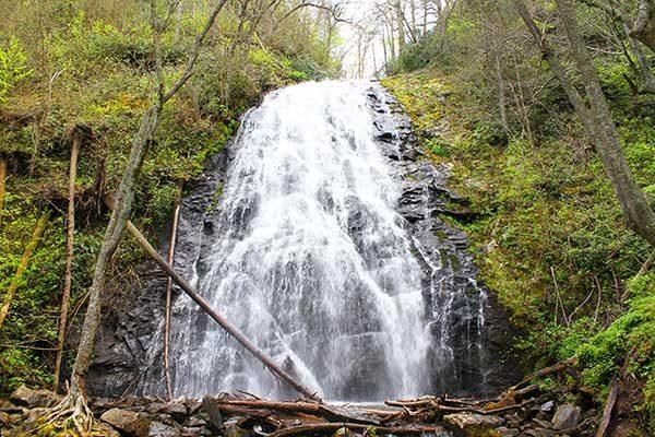 Crabtree Falls-Blue Ridge Parkway-Milepost 339.5