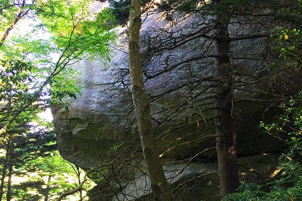 Stack Rock Overlook-Blue Ridge Parkway-Milepost 304.8