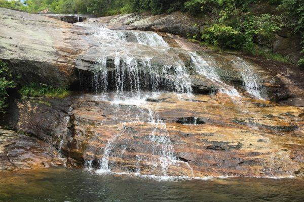 Graveyard Fields Waterfalls-Blue Ridge Parkway-Milepost 418