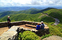 Blue Ridge Mountain Overlook Mountain View Hiking Trails